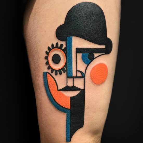 A Modern Picasso: The Cubist Tattoos of Mike Boyd