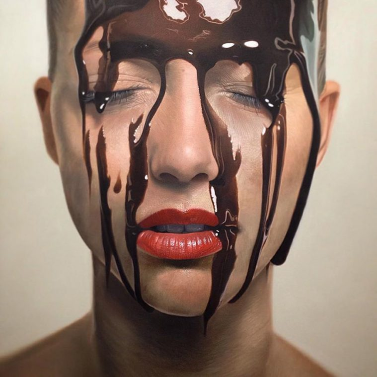 Deliciously Hyperreal Portraits by Mike Dargas