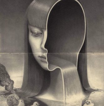 Severed and Split: The Grotesque Graphite Art of Miles Johnston