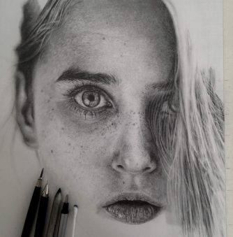 Pencil Drawings by an Artist Who Is Addicted to Detail