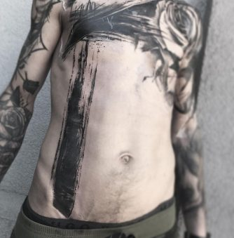 Brushstrokes and Splatters: Natalie Nox's Tattoos