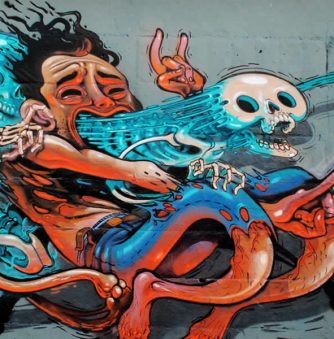 Dissections: Graffiti by Nychos