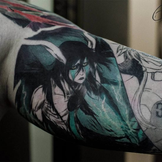 Tattoos: Anime, Sci-Fi, and Flora and Fauna