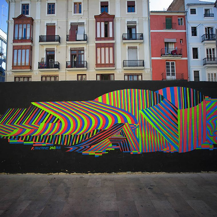 Bling-Bling Graffiti by Felipe Pantone
