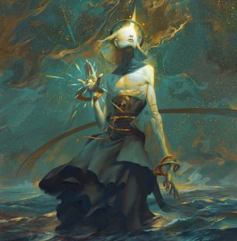 Angelarium: The Ancient, Cosmic Divinities of Peter Mohrbacher