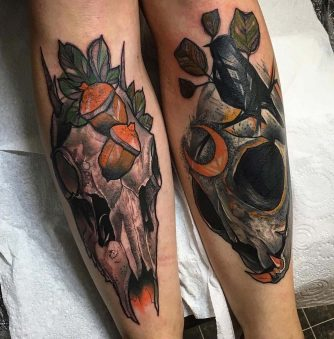 Phil Wilkinson Creates Dramatic Tattoos That Command Attention