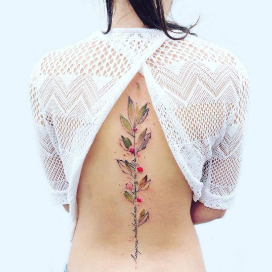 Tattoos for Nature Lovers by Pis Saro