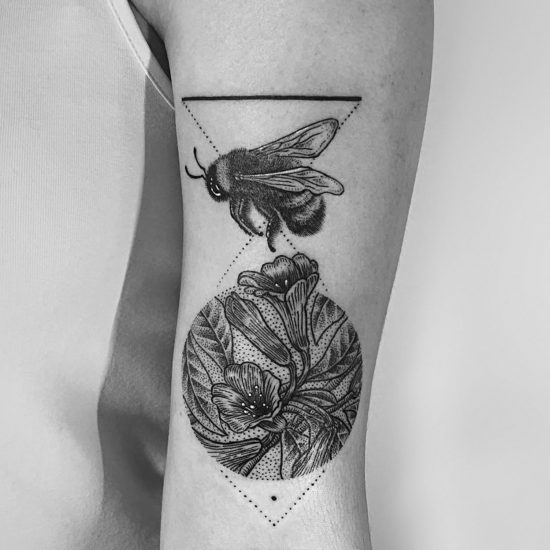 Etching-Inspired Tattoos by Robert Pavez