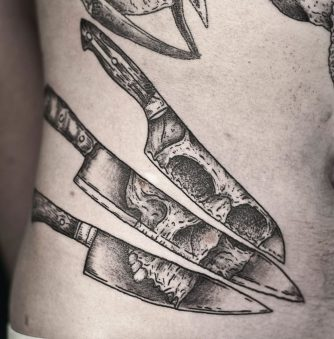 Sliced Bones: Tattoos from Russia