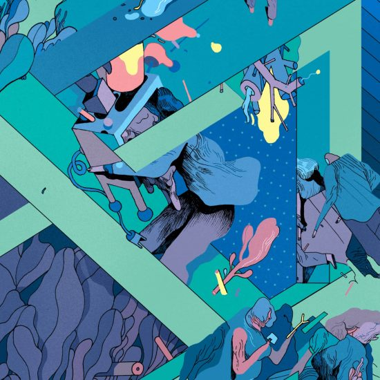 Dystopian Illustrations with an M.C. Escher Twist by Rune Fisker