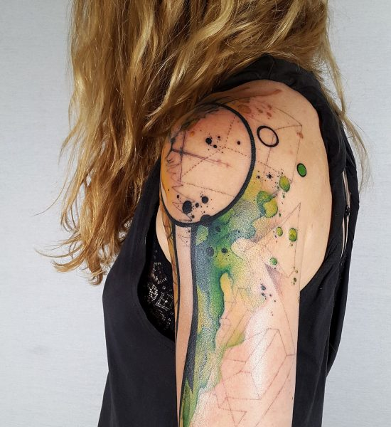 Color and Emotion: Interview with Tattooist Santa Perpetua