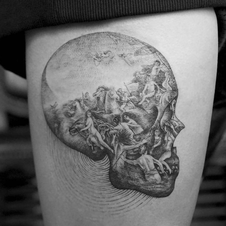 10 Artists Who Have Produced Remarkable Skull Tattoos