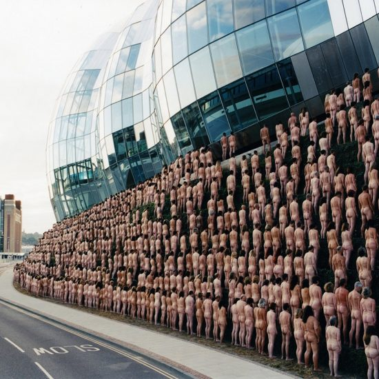 Spencer Tunick's Awe-Striking Installations of Nude Crowds