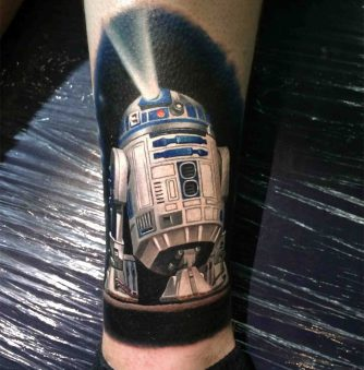 "16 Amazing Star Wars Tattoos—Including one from ""The Force Awakens"""