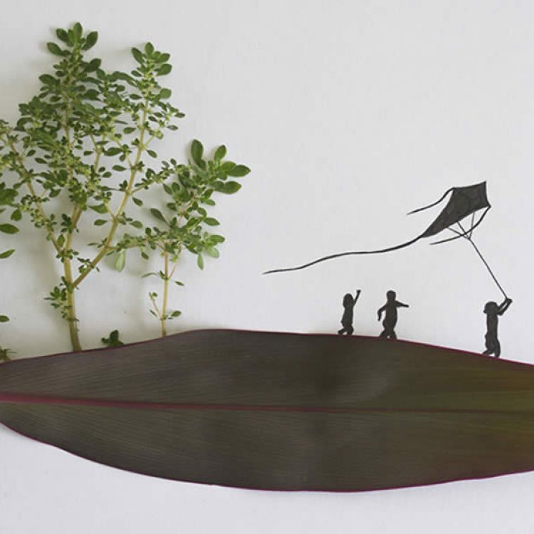 Leaf Art: Imaginative Tales