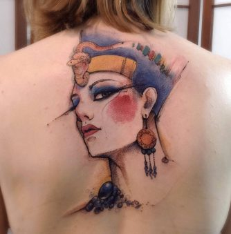Sketchbook-style Tattoos by Victor Montaghini