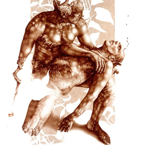 Sacrifice and Sanctity: Blood Paintings by Vincent Castiglia