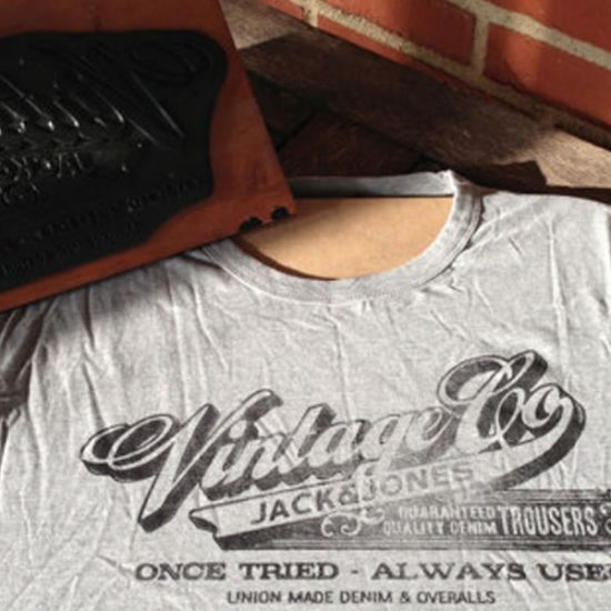 Old-School T-Shirt Printing
