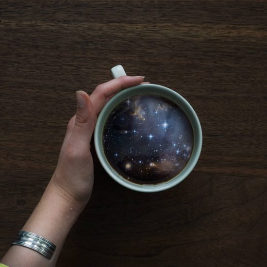 Out-of-this-World Coffee Cup Manipulations by Witchoria