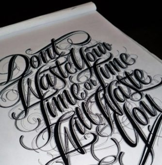 Typography: Don't Waste Time!