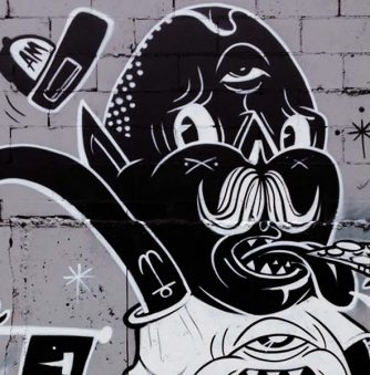 Yok's Cartoon Murals