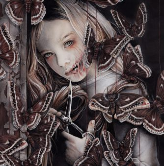 Darkness and Innocence in the Illustrations of Yuriko Shirou