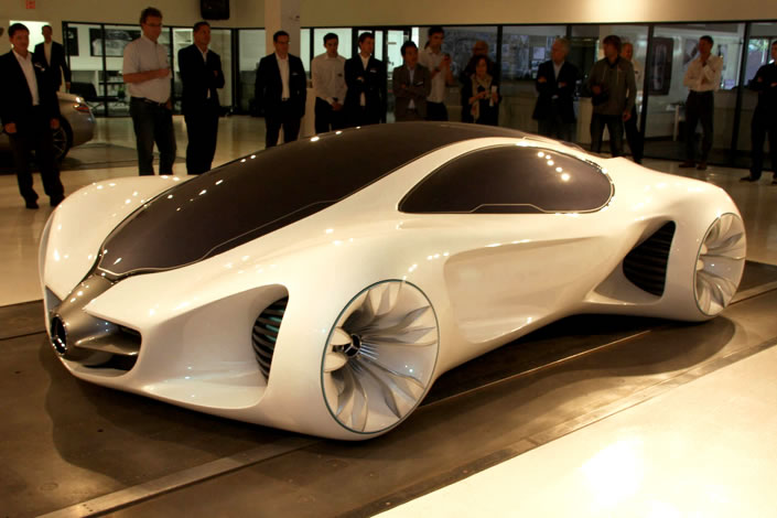 Mercedes-Benz's Futuristic Biome Car