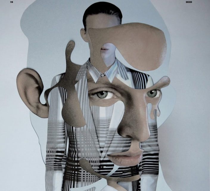 """Cut & Paste"" Fashion Collages by Blottiere and Spencer"