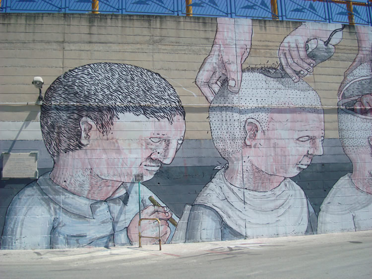 Blu's Controversial Wall of Brainless Soldiers