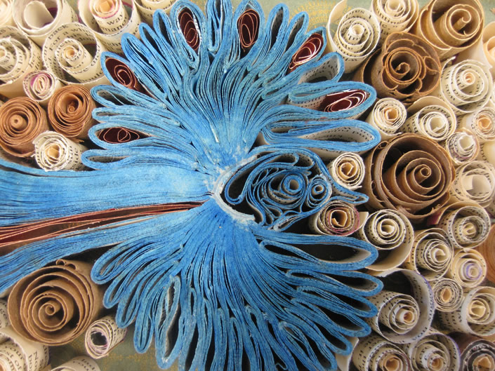 Paper Sculptures by Bronia Sawyer
