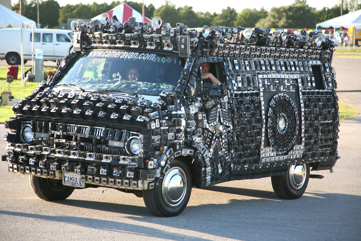 "Crazy, Cool ""Camera Van"""