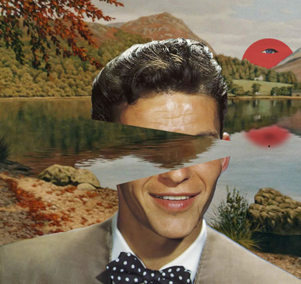 Collages of the Famous Dreaming and Into Space
