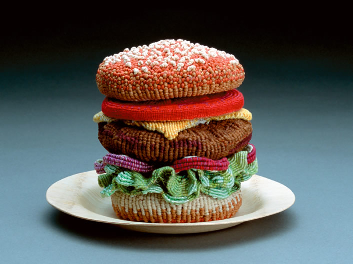 Best Knitted Burger in Town