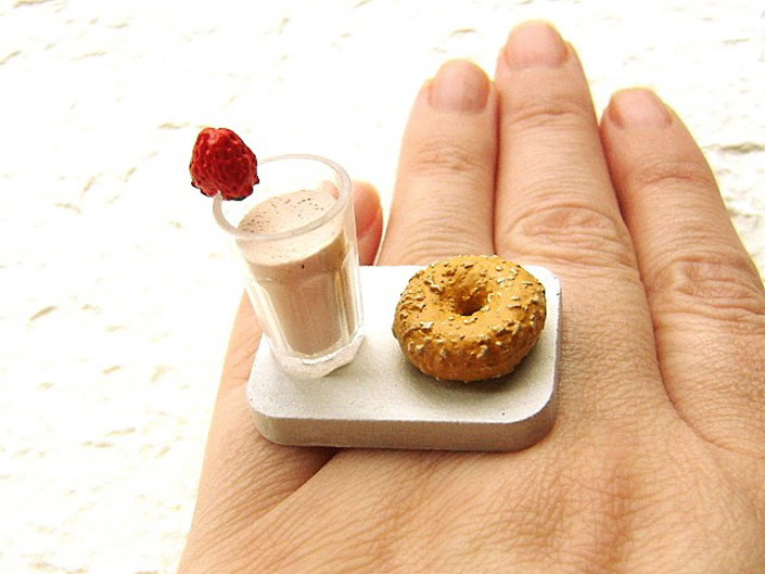 Handmade Miniature Food Sculptures