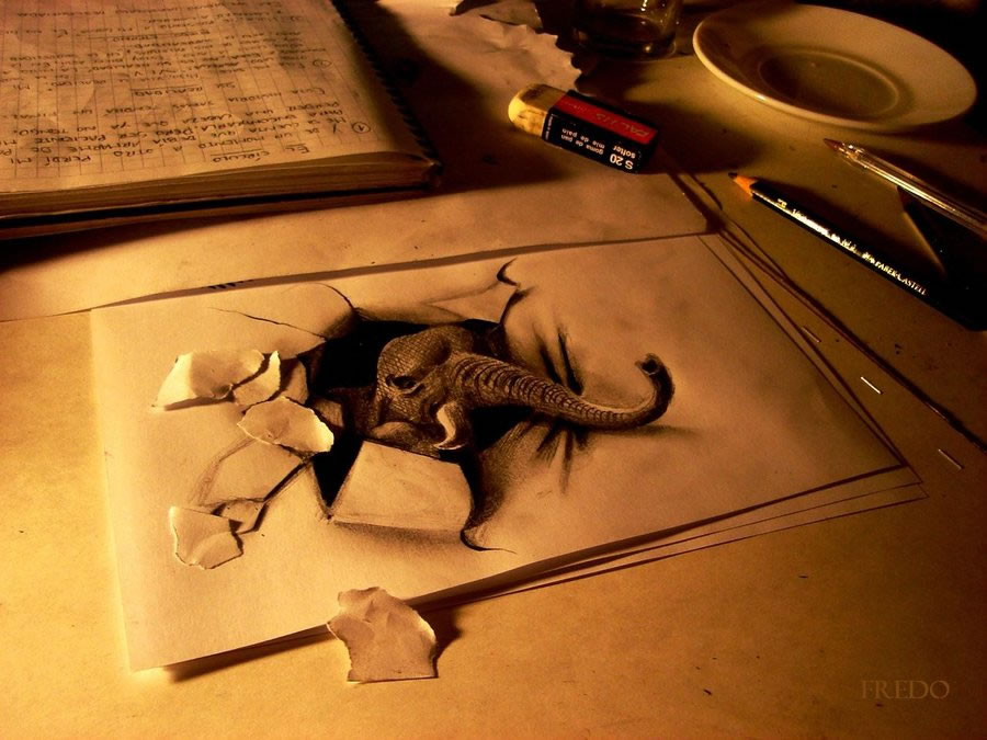 Amazing 3D Drawings
