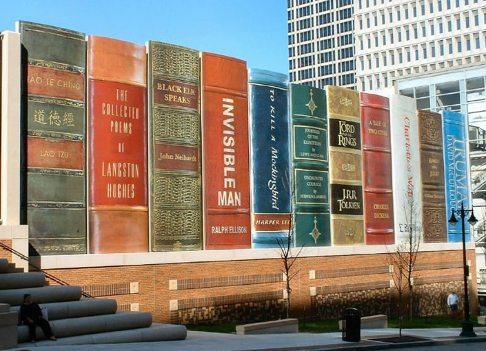 Gigantic Bookshelf in Kansas City