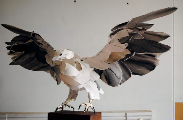 3D Animals Crafted with Archival Cotton Paper