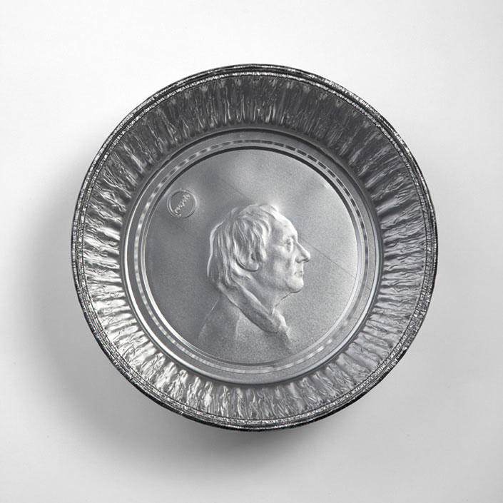 Must-See Portraits on Aluminum Foil Food Trays