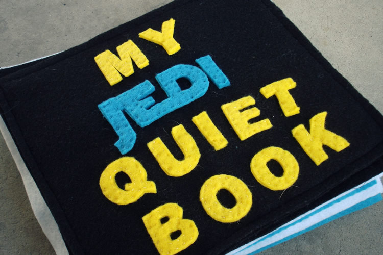 "Hand-made ""Star Wars"" Book"