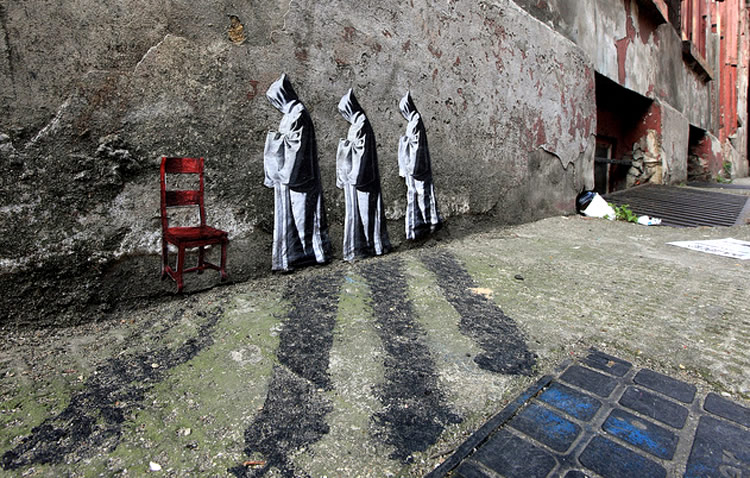 Miniature Collages Pasted in London