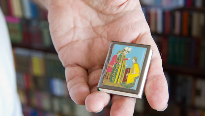 The World's Smallest Library