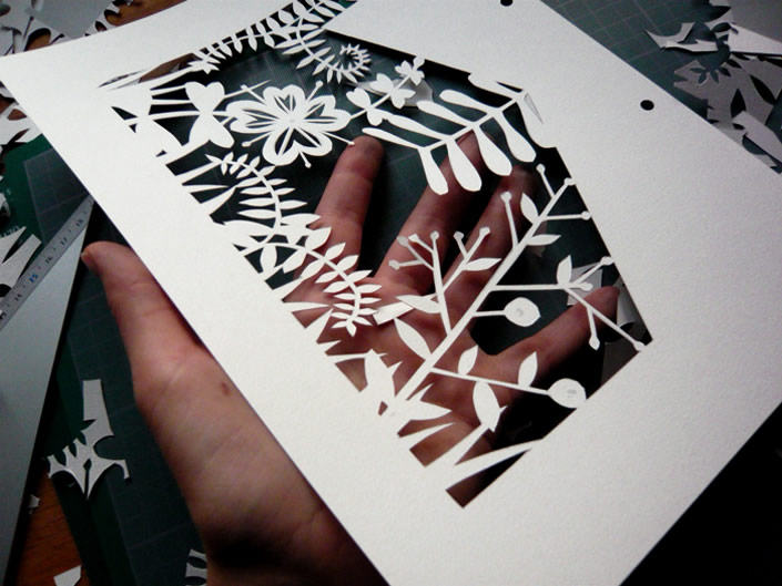 Layers of Paper Create Animations