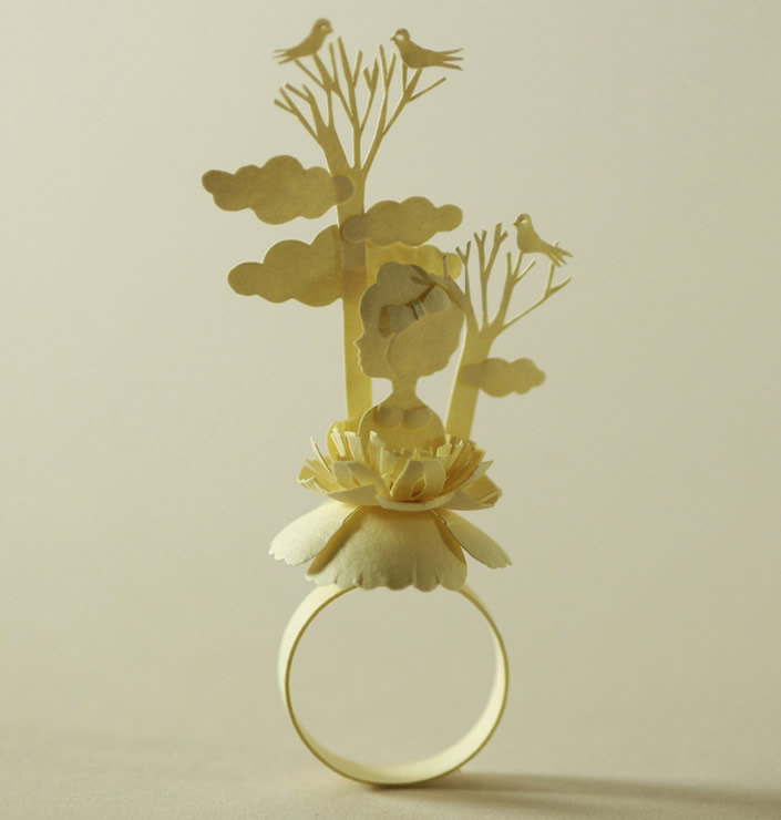 Beautiful Paper Ring