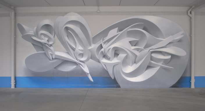 Three-dimensional Graffiti