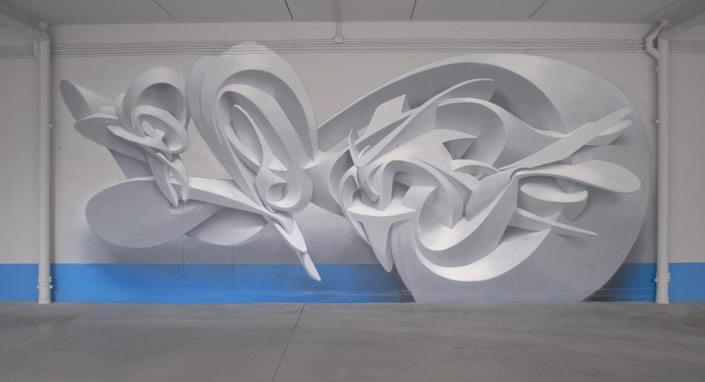 Three-dimensional Graffiti