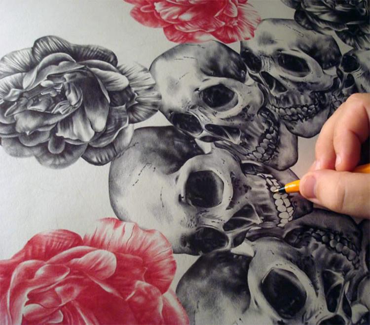 A Love Affair with Ballpoint and Felt-tip Pens