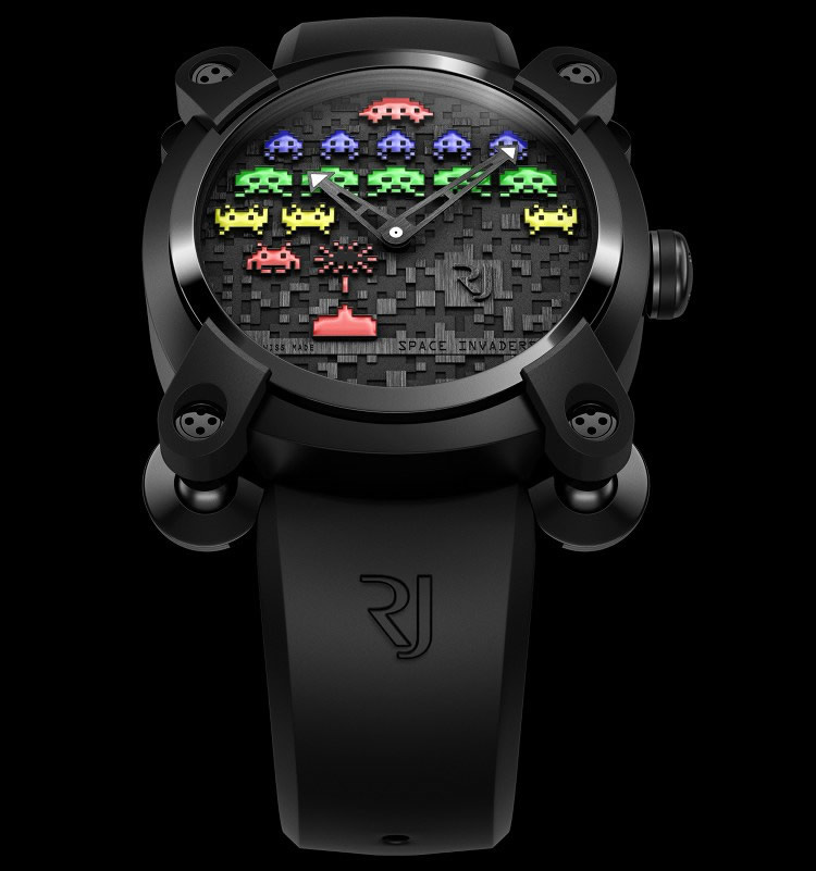 "High-End ""Space Invaders"" Watches"