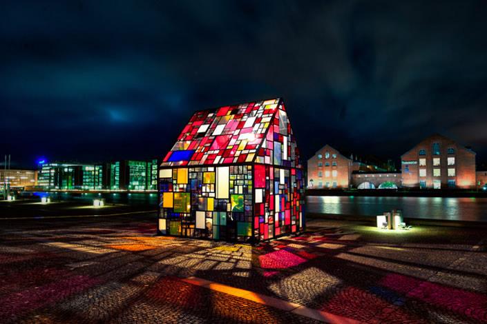 Beautiful Plexiglass House