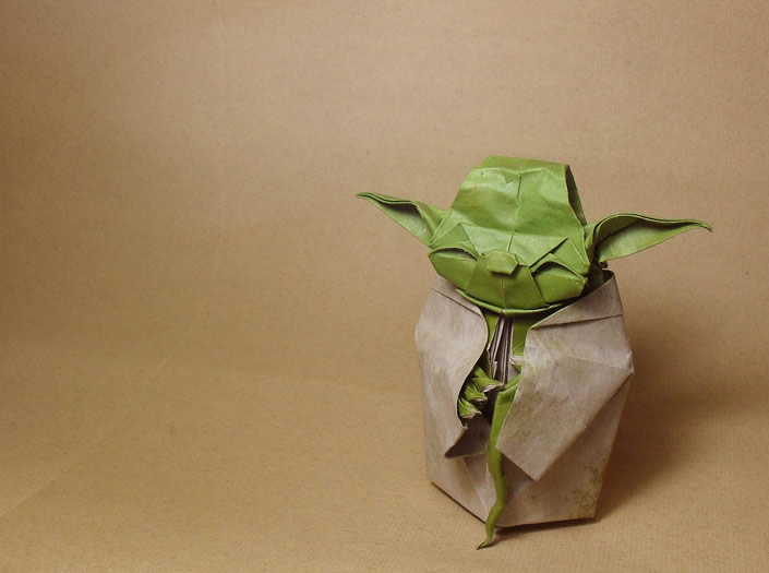Star Wars Inspired Origami