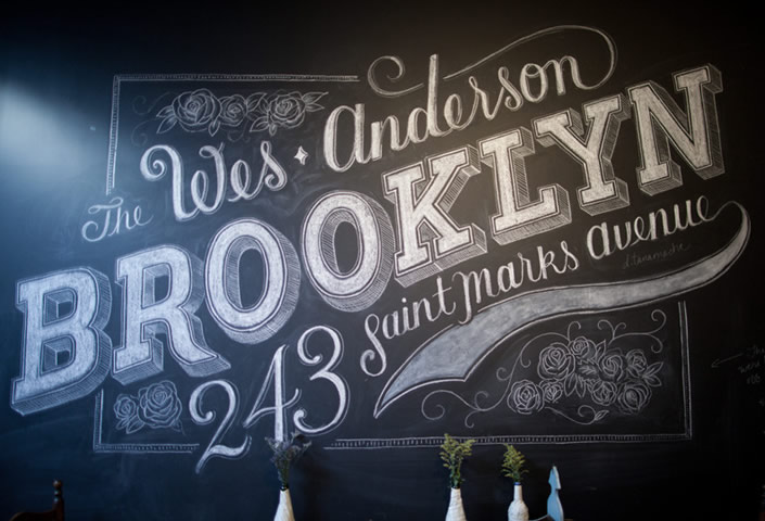 Messages on Chalkboards